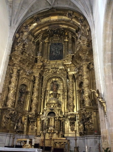 Meditation i Segovia Katedral