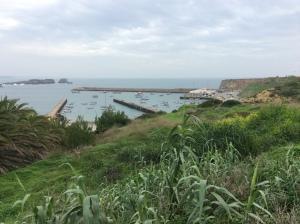 Hamnen i Sagres Algarve Portugal