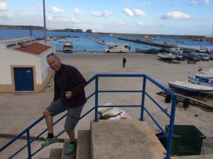 sagres hamn i Portugal Algarve